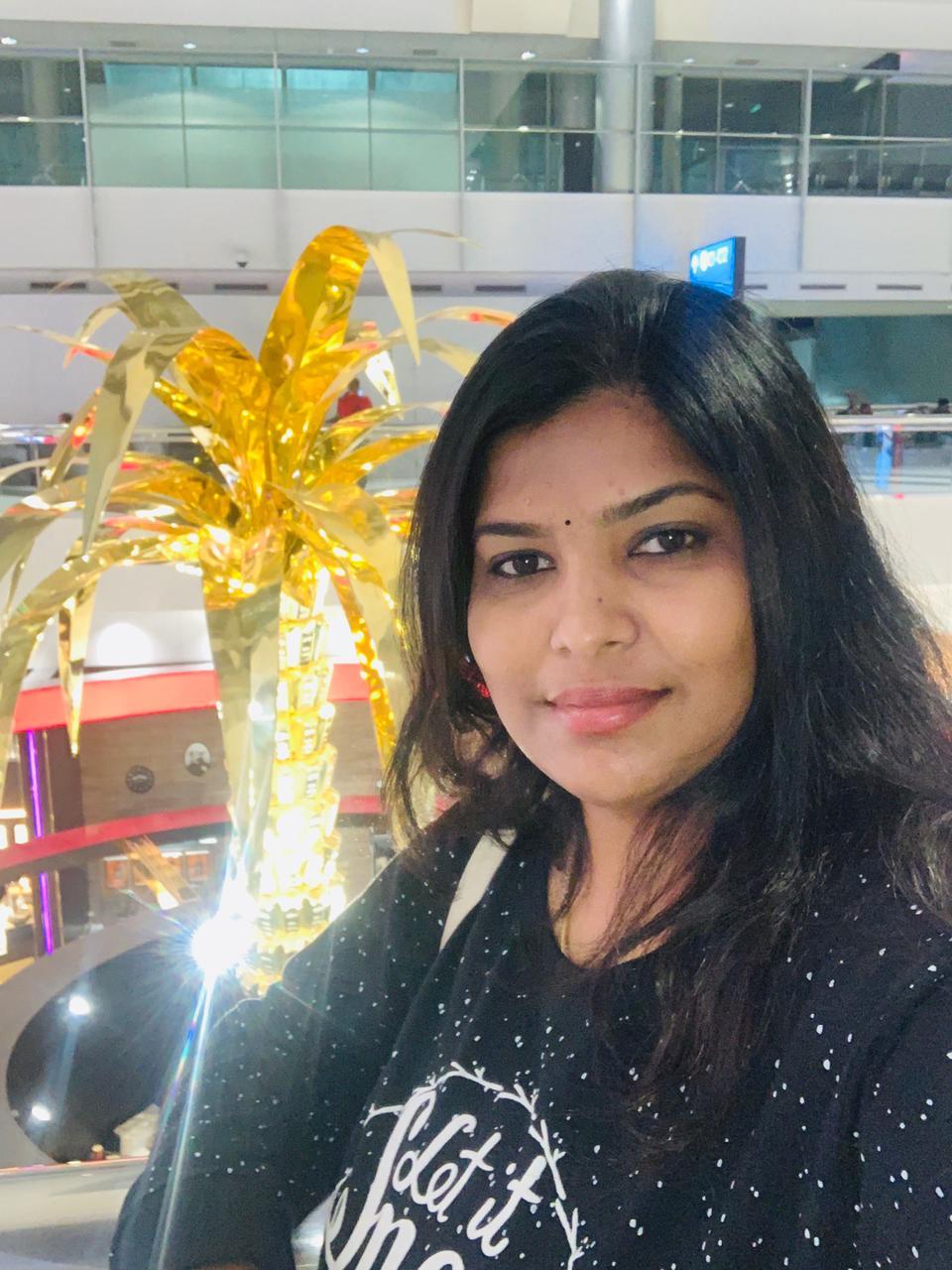 Picture of a client, Nanditha Shaji